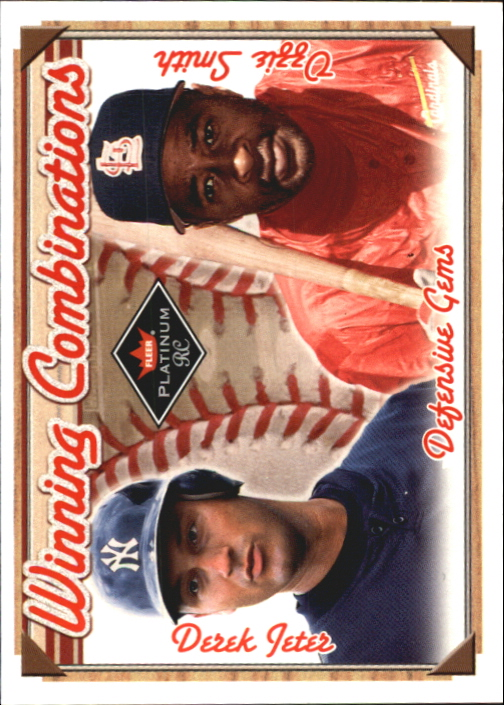 2001 Fleer Platinum Winning Combinations #1 D.Jeter/O.Smith/2000