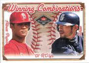 2001 Fleer Platinum Winning Combinations #3 I.Suzuki/A.Pujols/250