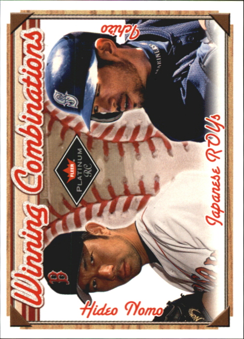2001 Fleer Platinum Winning Combinations #8 H.Nomo/I.Suzuki/2000