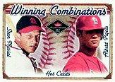 2001 Fleer Platinum Winning Combinations #34 S.Musial/A.Pujols/500