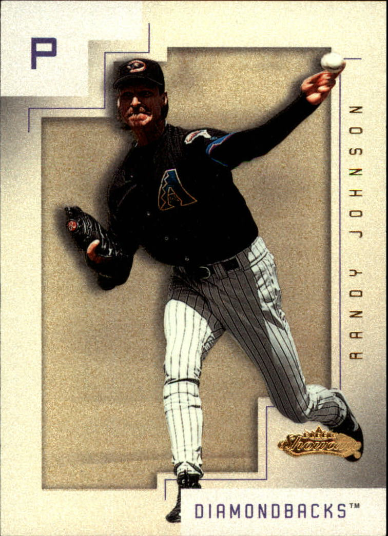 2001 Fleer Showcase #98 Randy Johnson