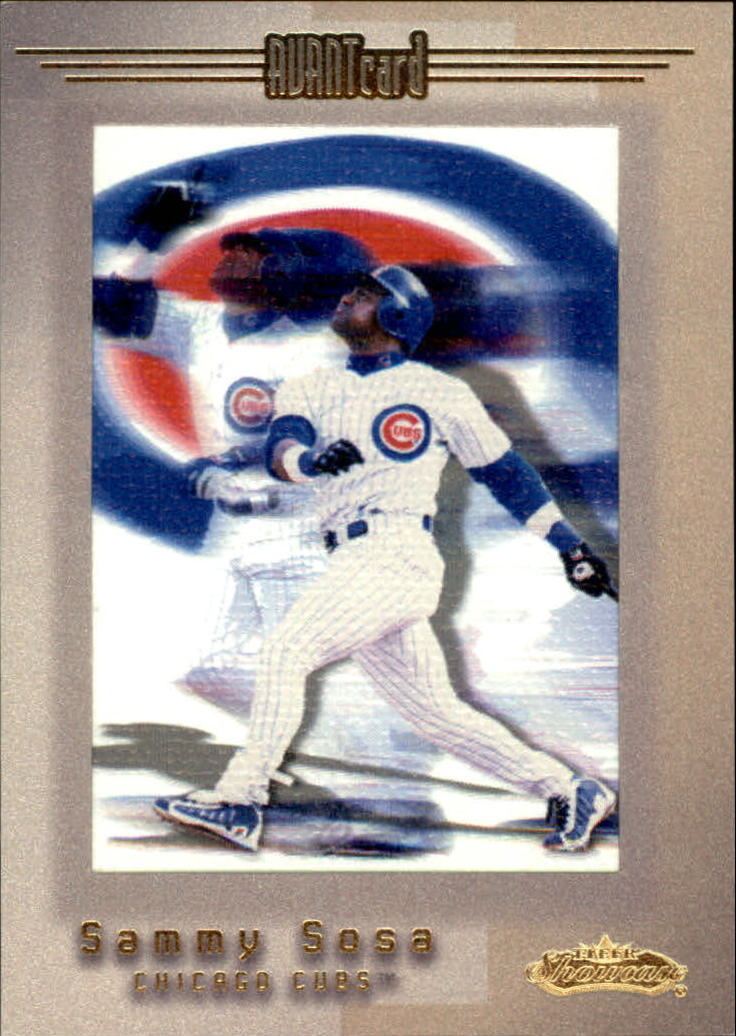 2001 Fleer Showcase #110 Sammy Sosa AC