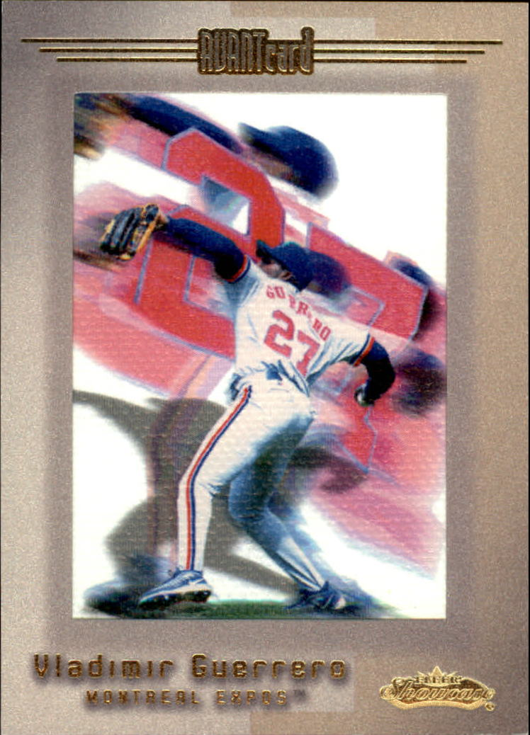 2001 Fleer Showcase #111 Vladimir Guerrero AC