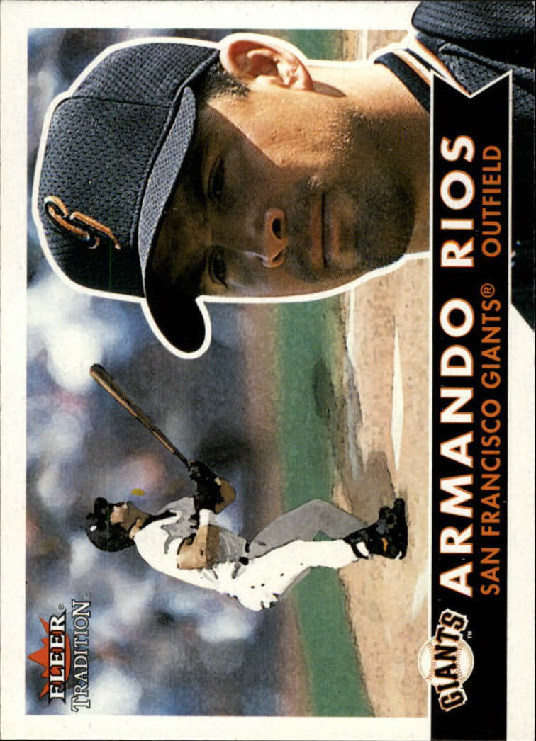 2001 Fleer Tradition #2 Armando Rios
