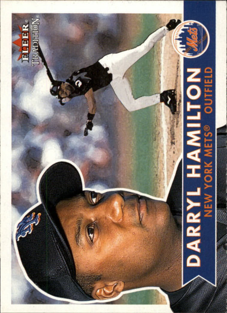 2001 Fleer Tradition #4 Darryl Hamilton