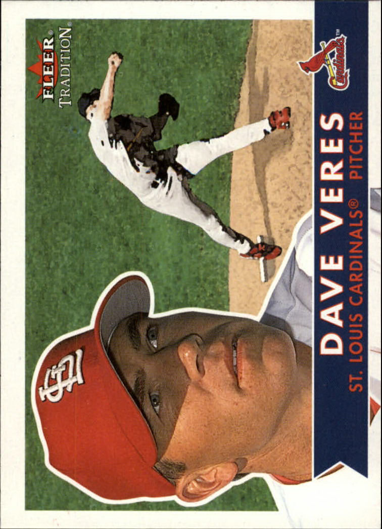 2001 Fleer Tradition #5 Dave Veres