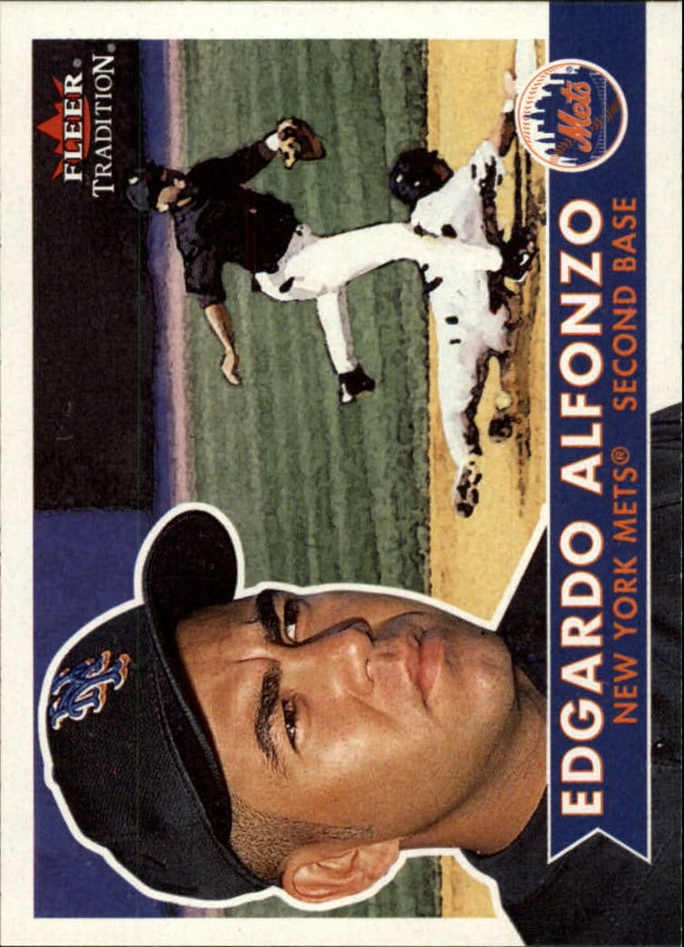 2001 Fleer Tradition #6 Edgardo Alfonzo
