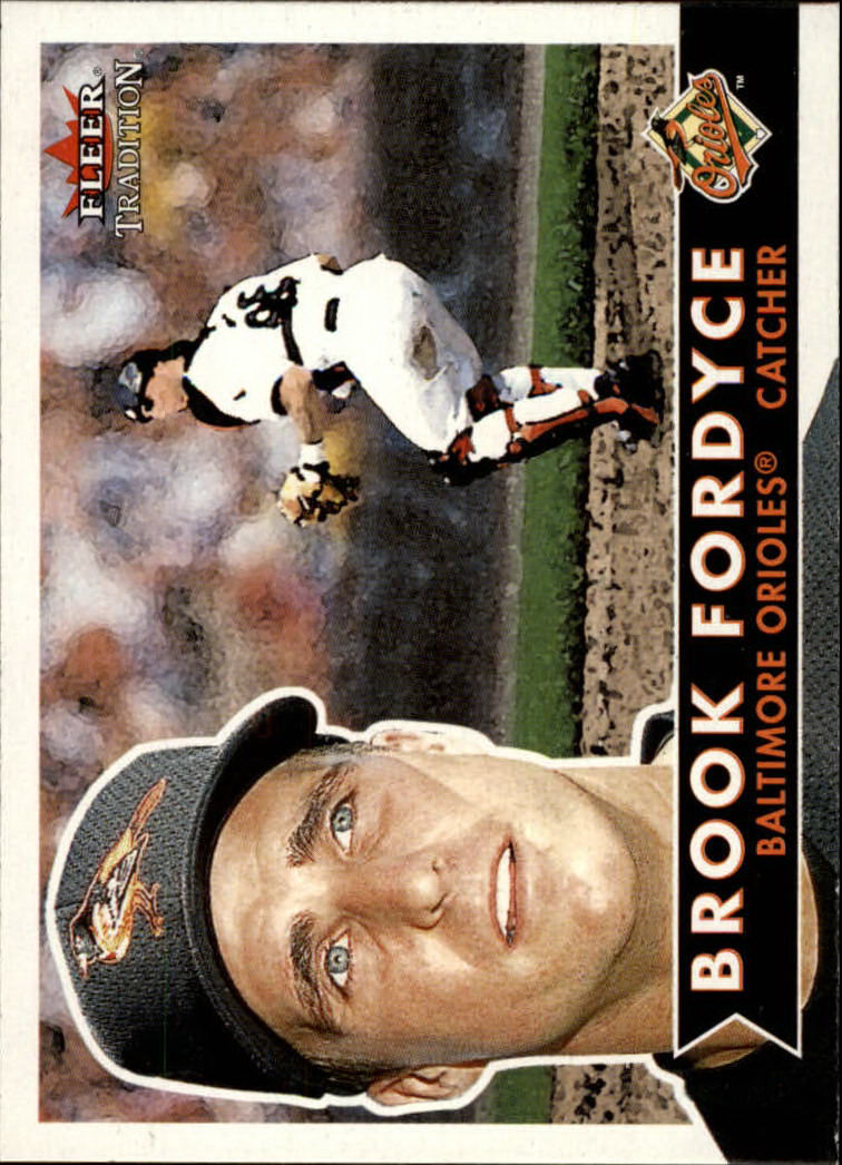 2001 Fleer Tradition #7 Brook Fordyce