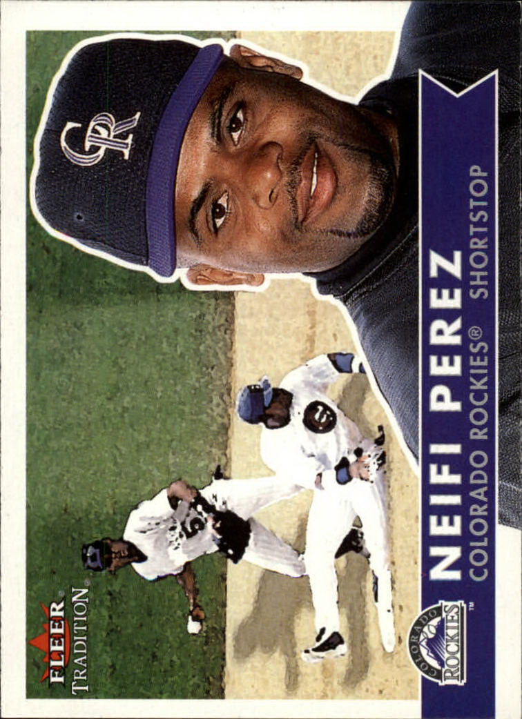 2001 Fleer Tradition #9 Neifi Perez