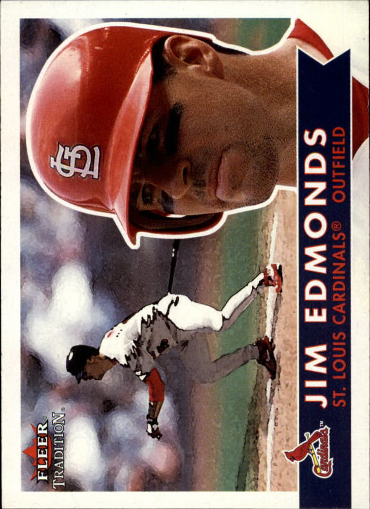 2001 Fleer Tradition #10 Jim Edmonds