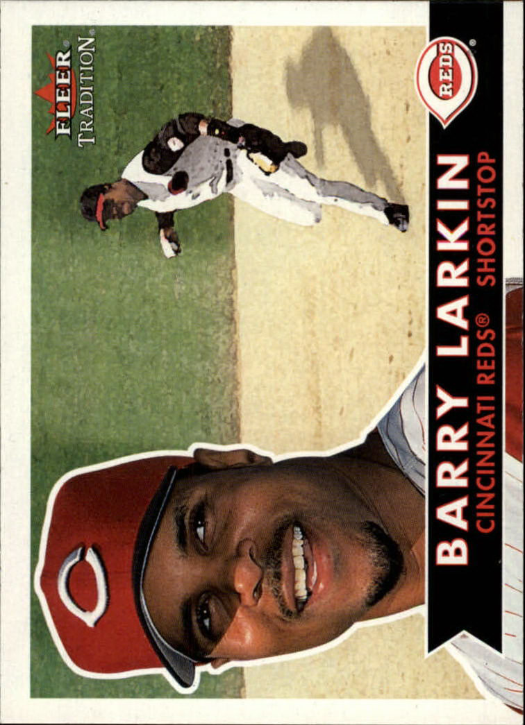 2001 Fleer Tradition #11 Barry Larkin