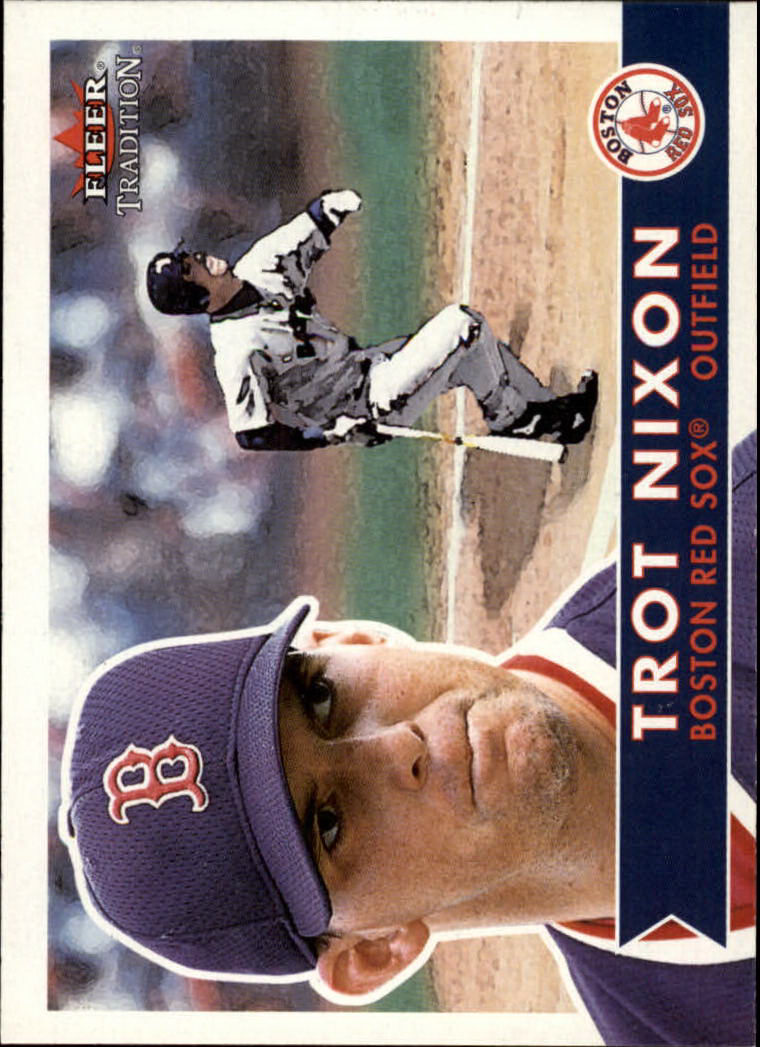 2001 Fleer Tradition #12 Trot Nixon