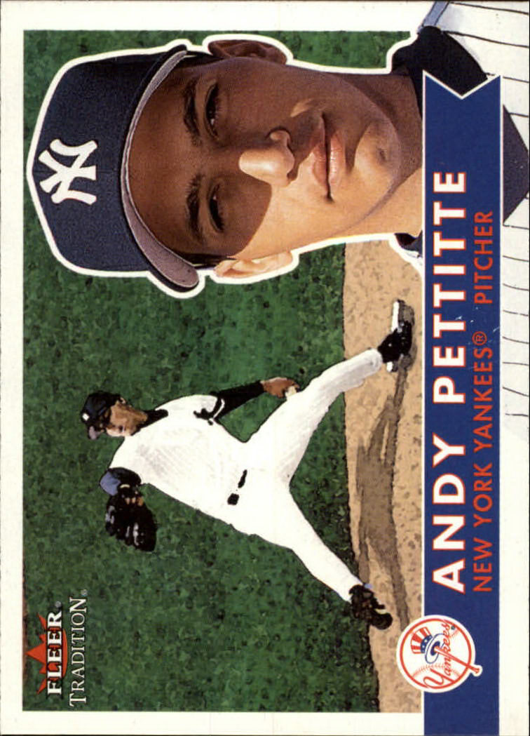 2001 Fleer Tradition #13 Andy Pettitte