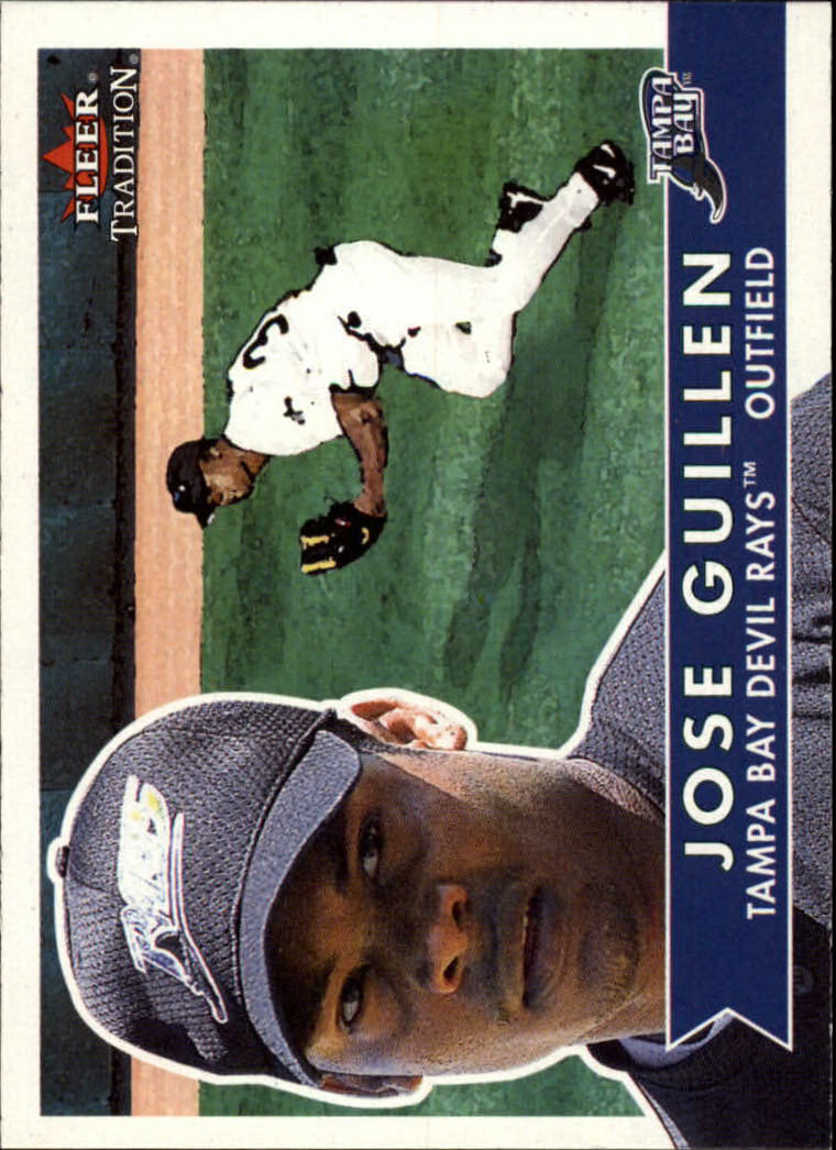2001 Fleer Tradition #14 Jose Guillen