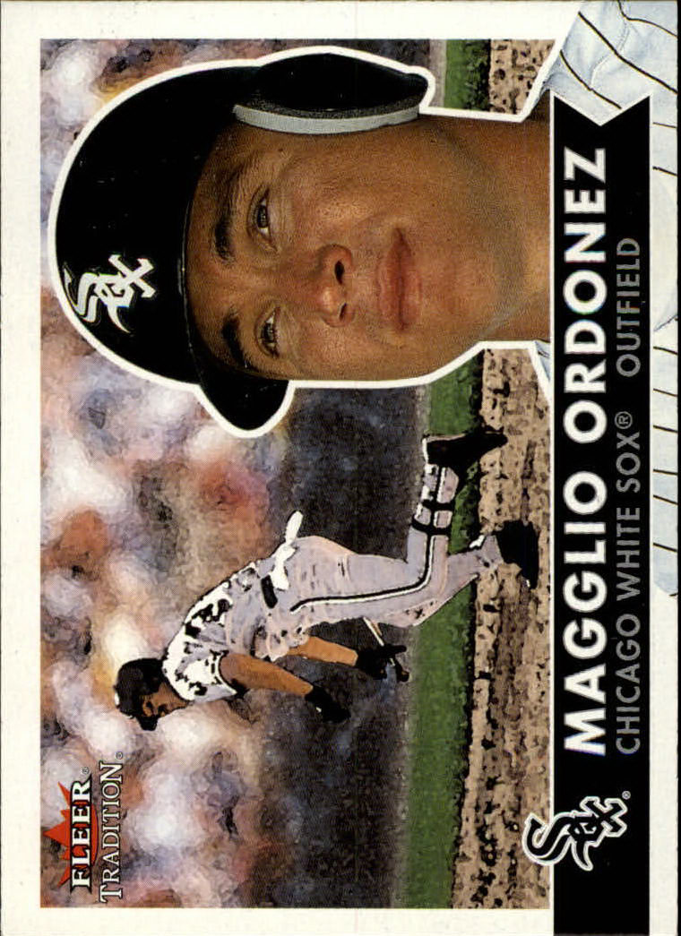 2001 Fleer Tradition #16 Magglio Ordonez