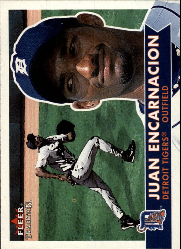 2001 Fleer Tradition #18 Juan Encarnacion