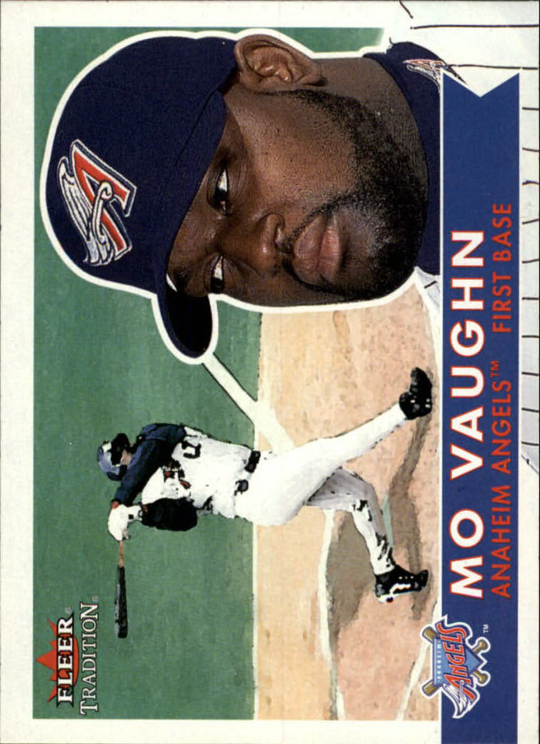 2001 Fleer Tradition #21 Mo Vaughn