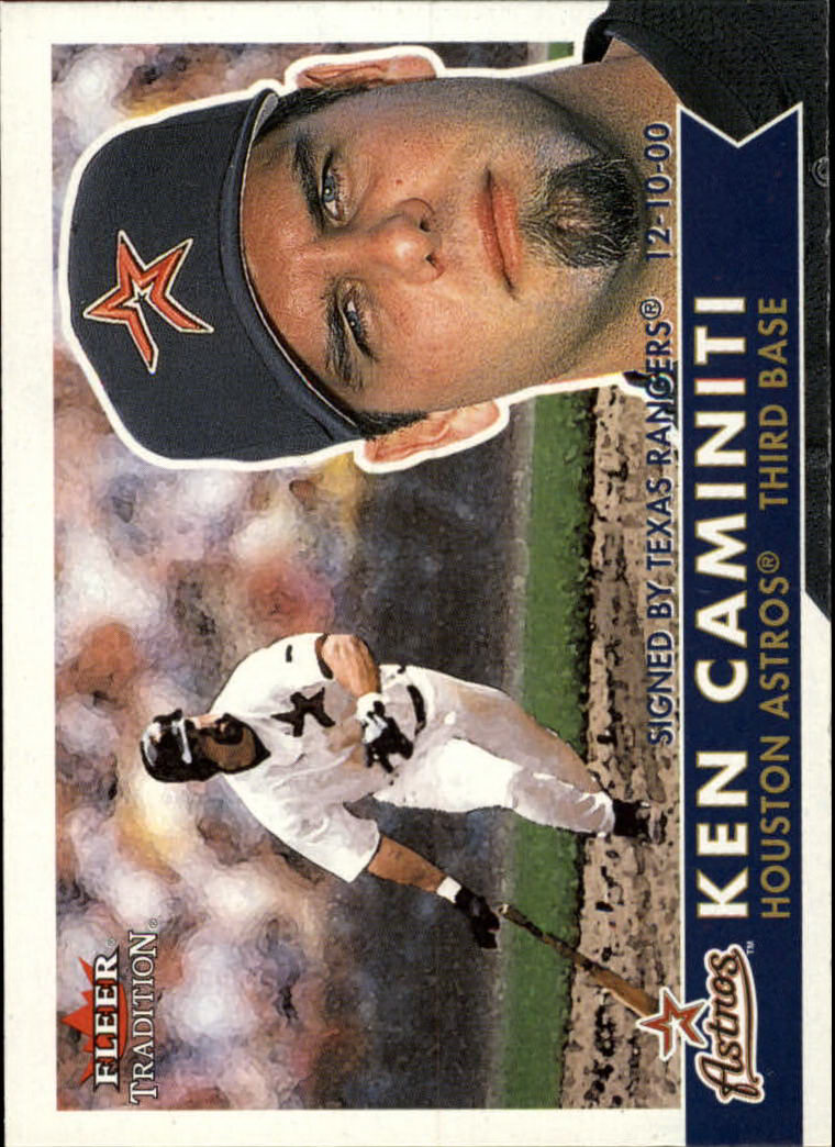 2001 Fleer Tradition #23 Ken Caminiti