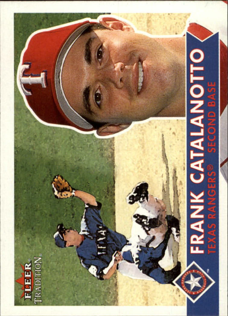 2001 Fleer Tradition #24 Frank Catalanotto