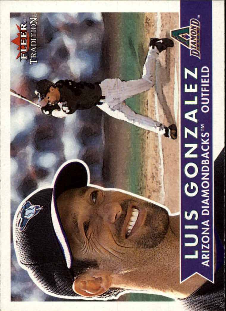 2001 Fleer Tradition #25 Luis Gonzalez