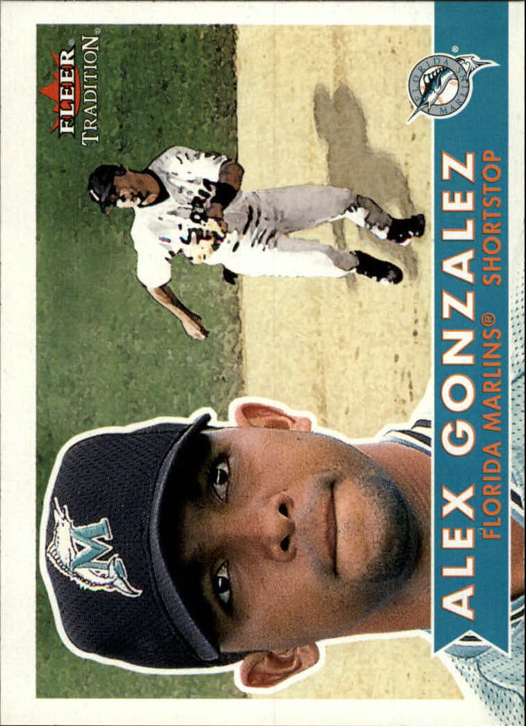 2001 Fleer Tradition #27 Alex Gonzalez