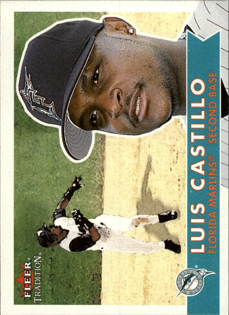 2001 Fleer Tradition #29 Luis Castillo