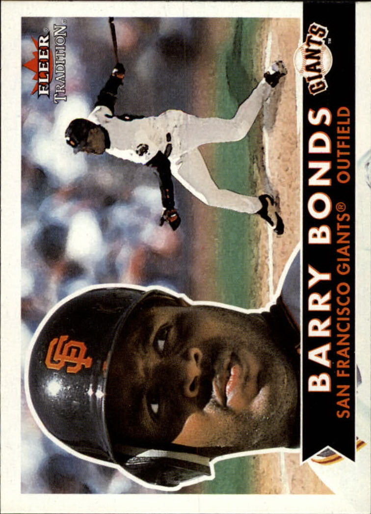 2001 Fleer Tradition #31 Barry Bonds