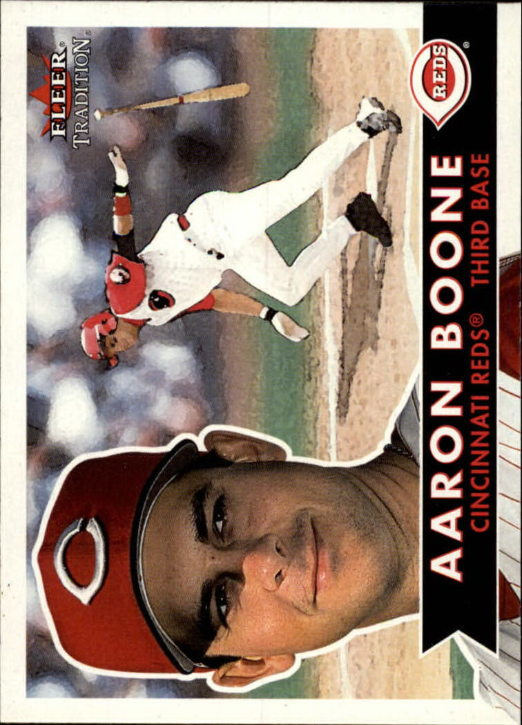 2001 Fleer Tradition #33 Aaron Boone