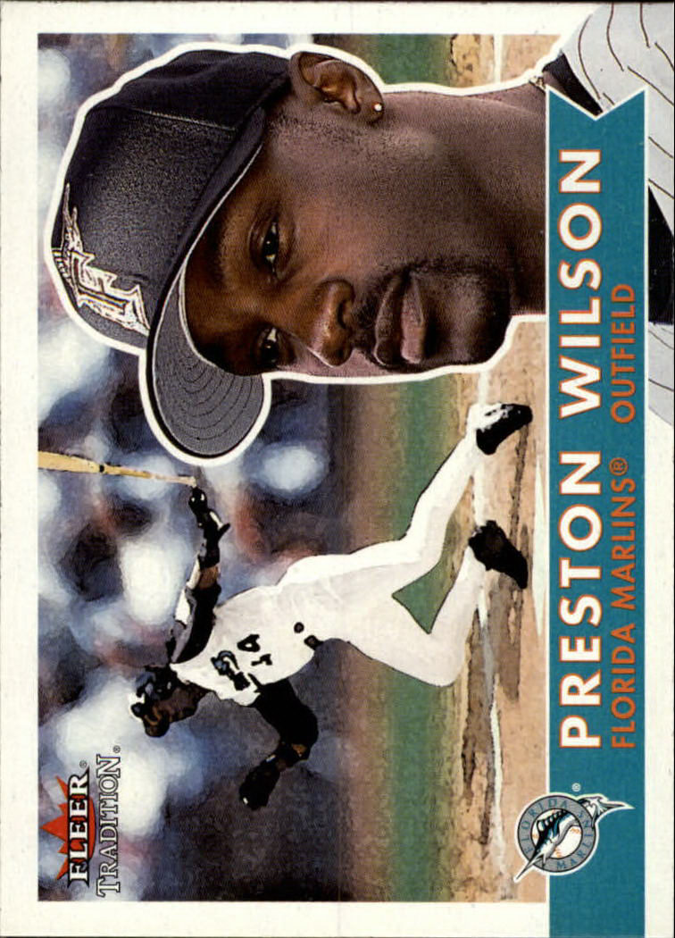 2001 Fleer Tradition #35 Preston Wilson