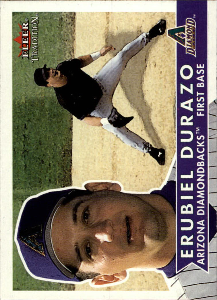 2001 Fleer Tradition #36 Erubiel Durazo