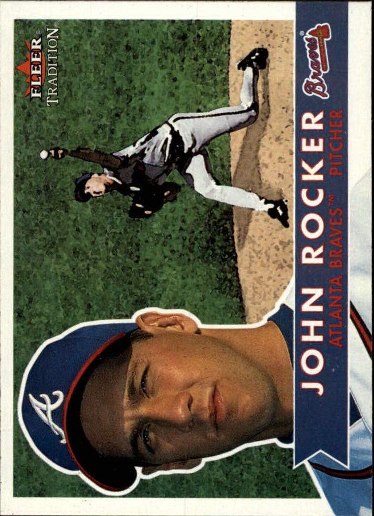2001 Fleer Tradition #38 John Rocker