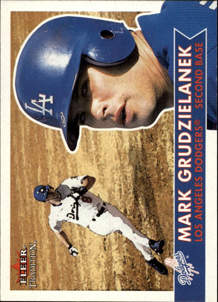 2001 Fleer Tradition #39 Mark Grudzielanek