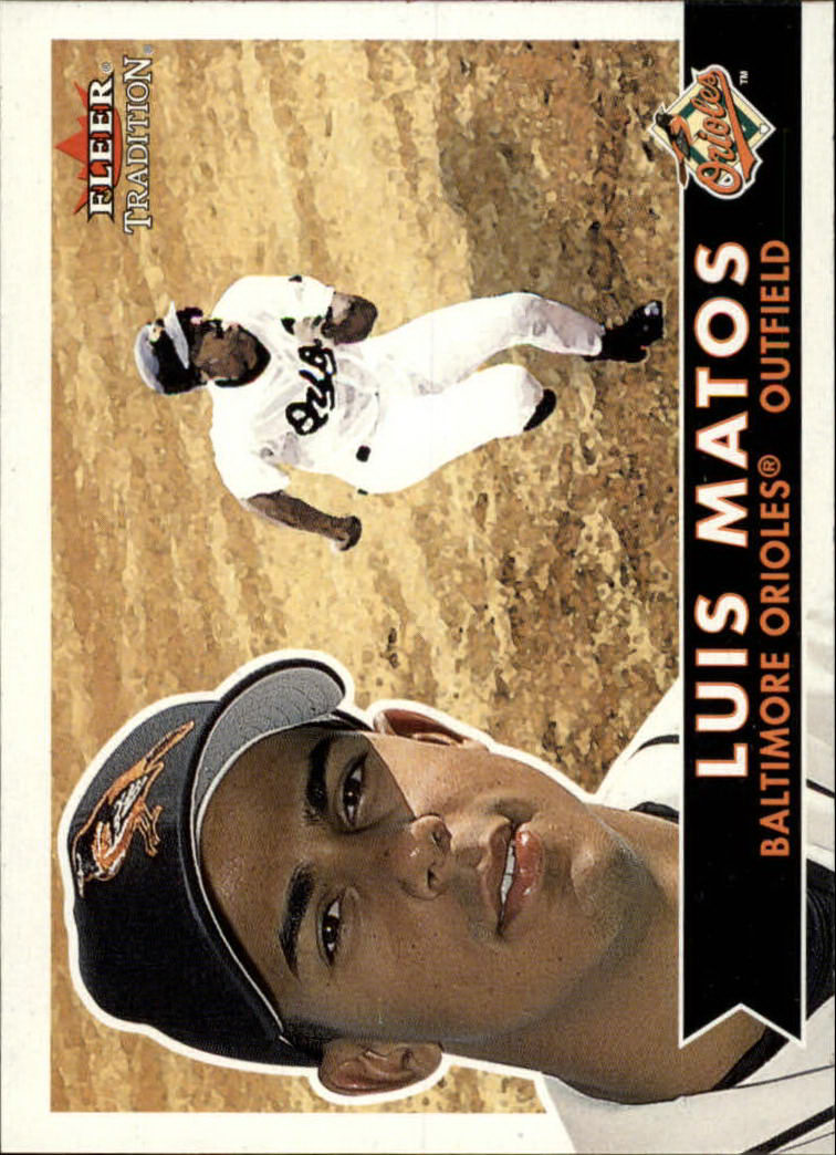 2001 Fleer Tradition #42 Luis Matos