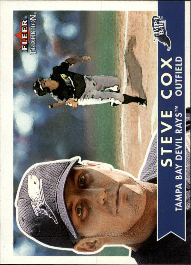 2001 Fleer Tradition #44 Steve Cox