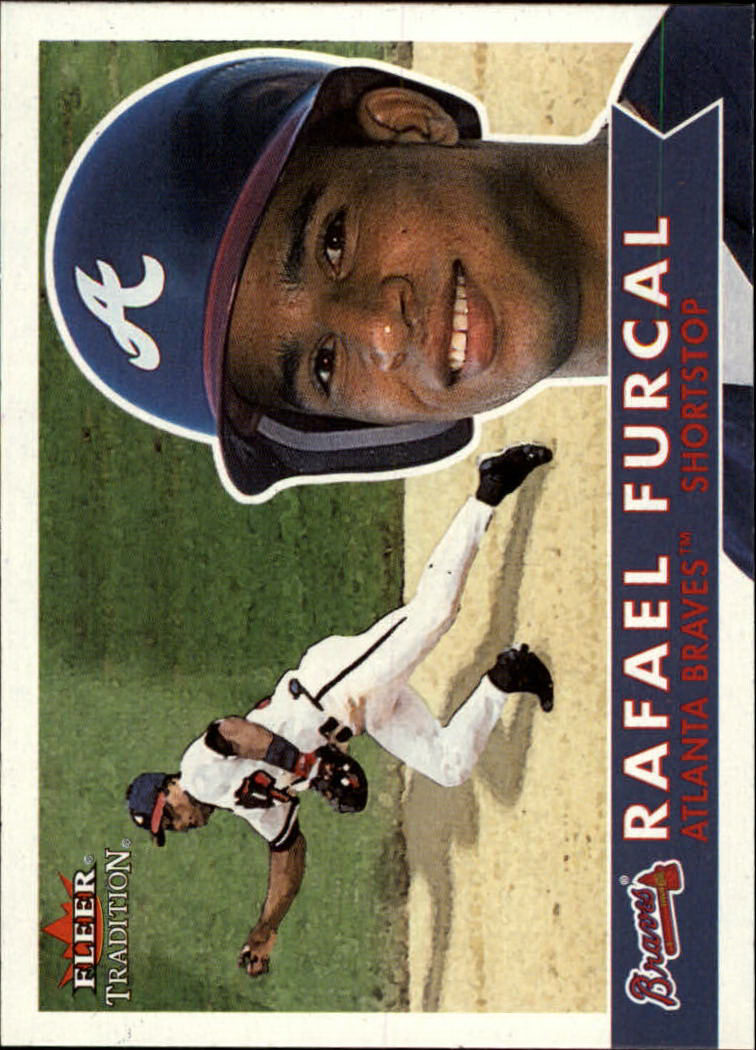 2001 Fleer Tradition #46 Rafael Furcal