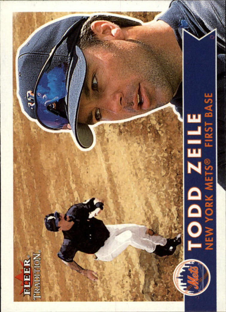 2001 Fleer Tradition #47 Todd Zeile