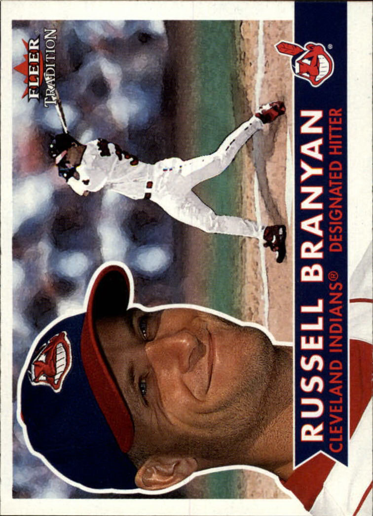 2001 Fleer Tradition #49 Russell Branyan