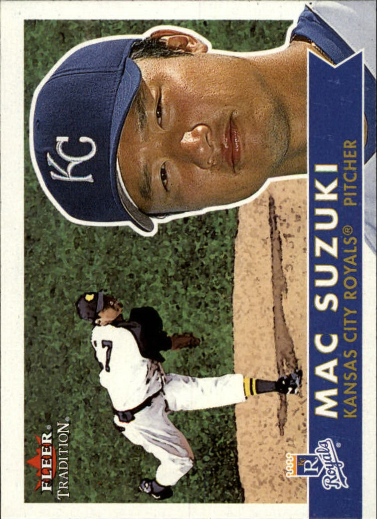 2001 Fleer Tradition #51 Mac Suzuki