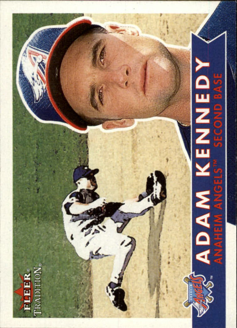 2001 Fleer Tradition #52 Adam Kennedy
