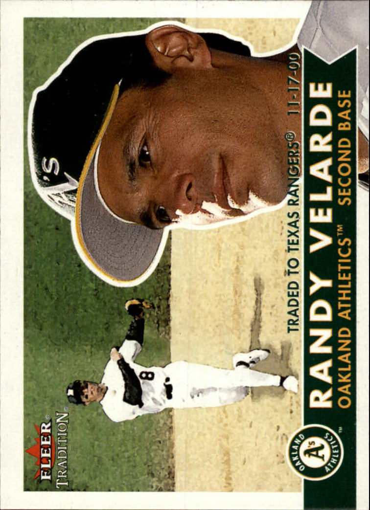 2001 Fleer Tradition #53 Randy Velarde