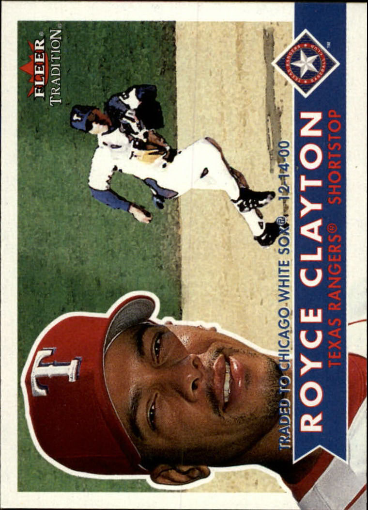 2001 Fleer Tradition #55 Royce Clayton