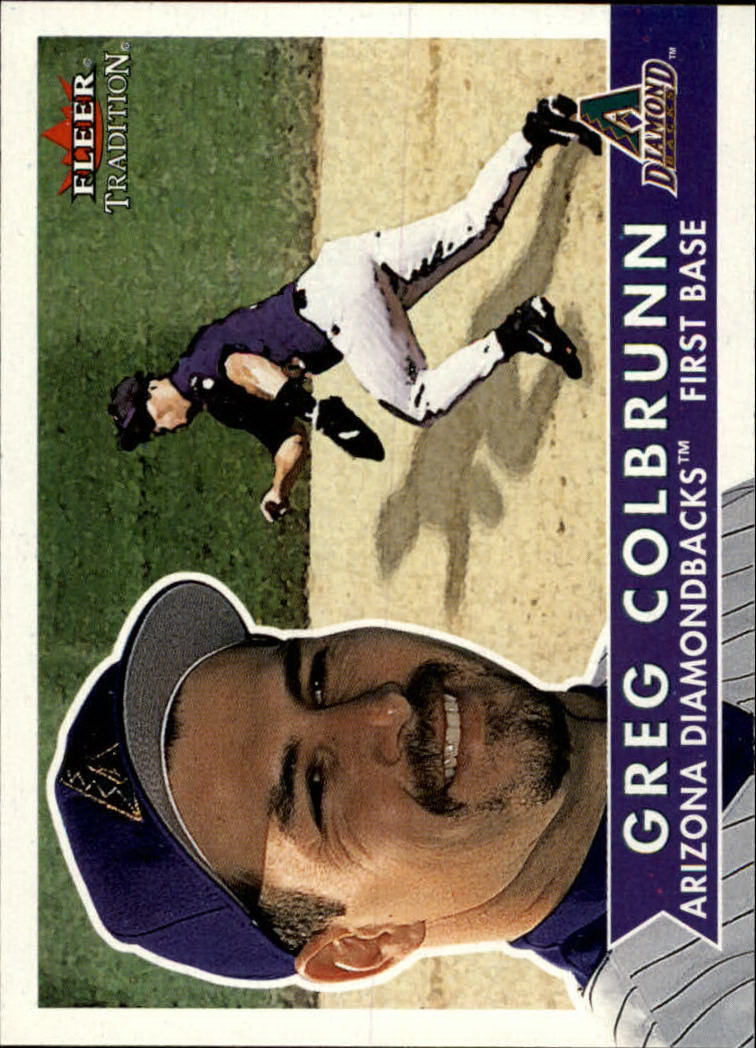 2001 Fleer Tradition #56 Greg Colbrunn