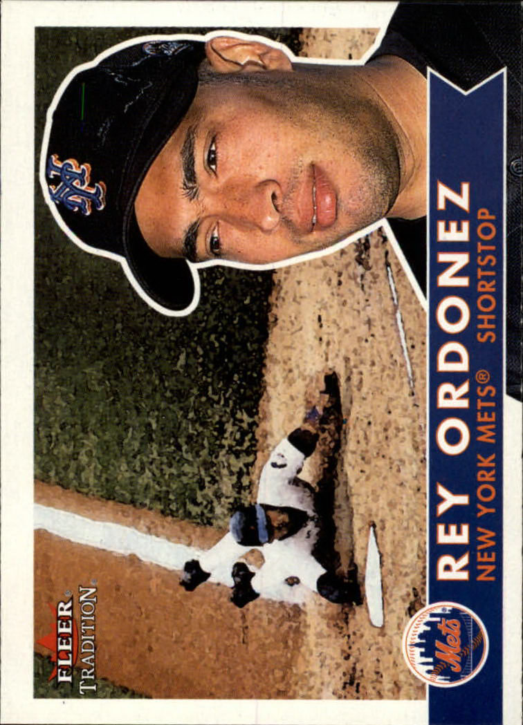 2001 Fleer Tradition #57 Rey Ordonez