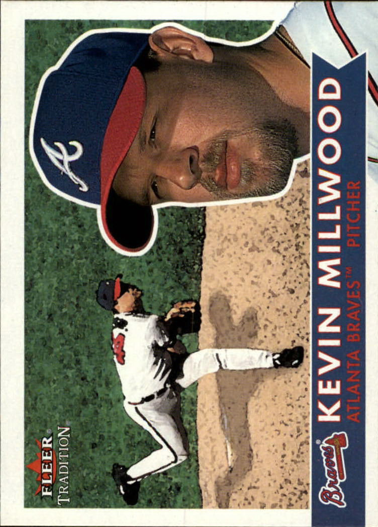 2001 Fleer Tradition #58 Kevin Millwood