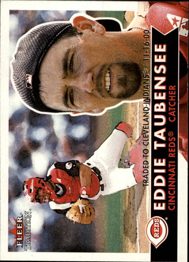 2001 Fleer Tradition #60 Eddie Taubensee