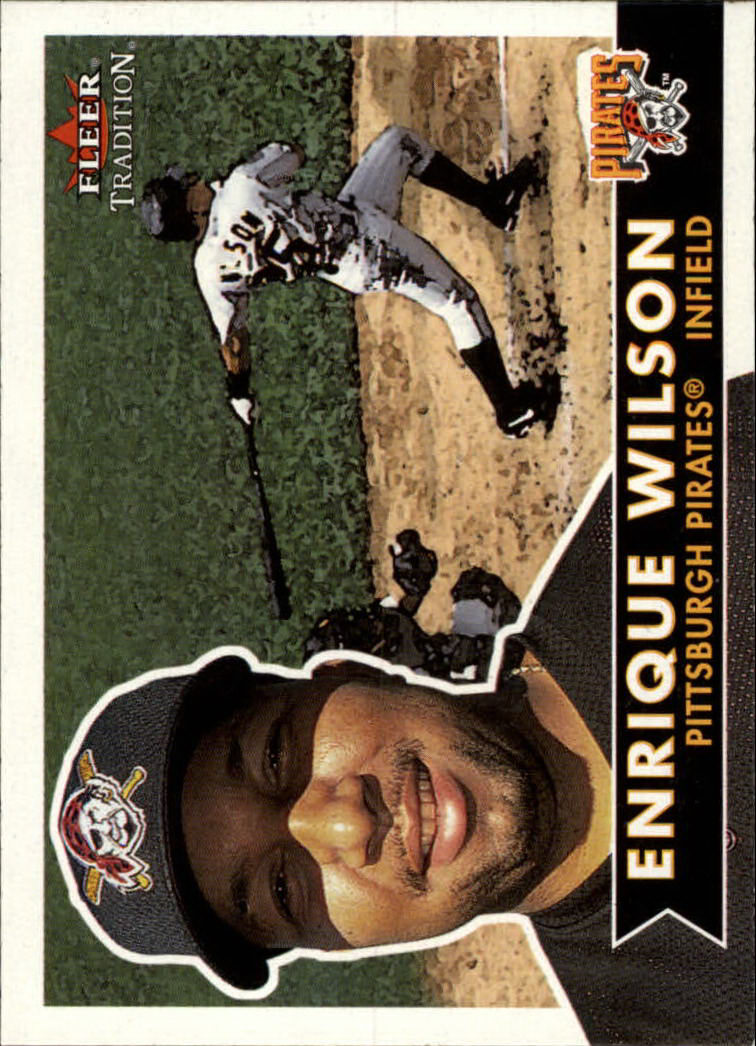 2001 Fleer Tradition #61 Enrique Wilson