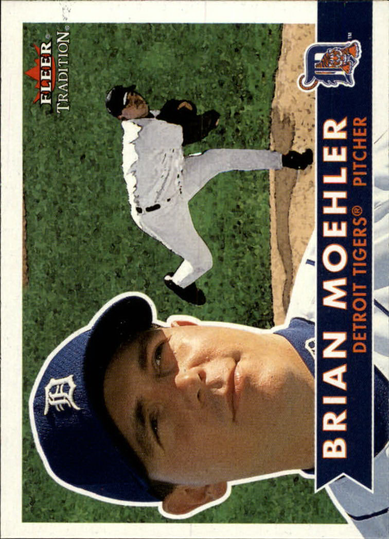 2001 Fleer Tradition #63 Brian Moehler