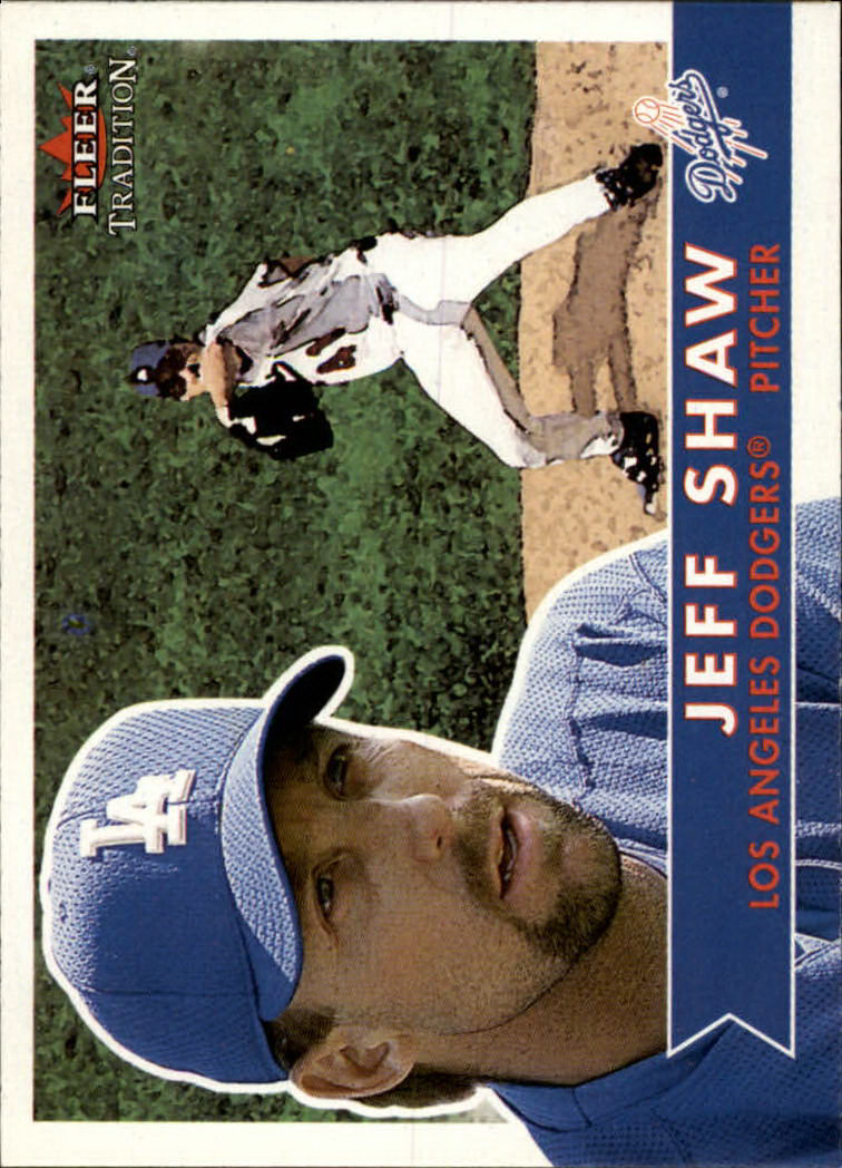 2001 Fleer Tradition #69 Jeff Shaw
