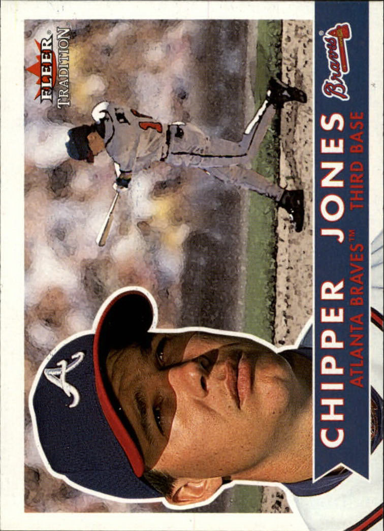2001 Fleer Tradition #70 Chipper Jones