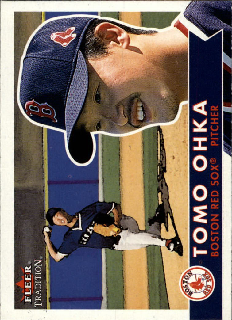 2001 Fleer Tradition #71 Tomo Ohka